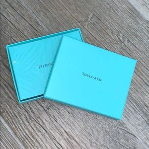 Tiffany & Co. metallic playing cards NWT